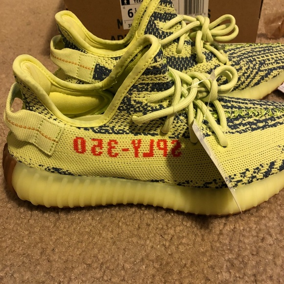 f1f2221633eb4 Adidas Yeezy Boost V2 Semi Frozen (Yellow) Kids